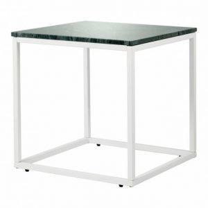 Carrie Sivupöytä 50 Vihreä/Valkoinen