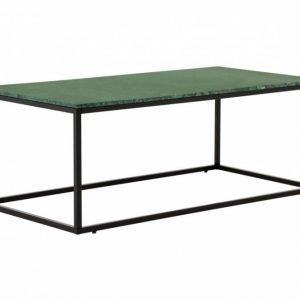 Carrie Sohvapöytä 120 Musta/Vihreä