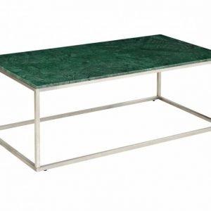 Carrie Sohvapöytä 120 Teräs/Vihreä