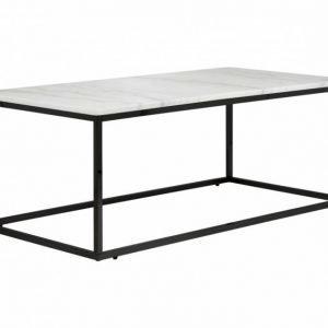 Carrie Sohvapöytä 120 Valkoinen/Musta