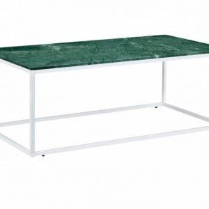 Carrie Sohvapöytä 120 Vihreä/Valkoinen