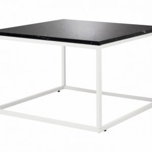 Carrie Sohvapöytä 70 Musta/Valkoinen