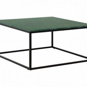 Carrie Sohvapöytä 90 Musta/Vihreä
