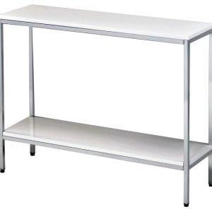 Cava 100 Sivupöytä Valkoinen