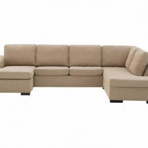 Connect Large U-Sohva Beige