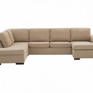 Connect Large U-Sohva Vasen Beige