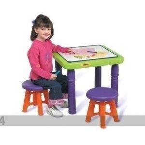 Crayola Pöytä Ja Tuolit Crayola