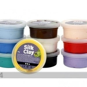 Creativ Company Muotoilumassa Silk Clay Silkkisavi 10x40 G