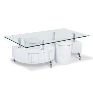 Cubio Sohvapöytä + Rahit 2 Kpl