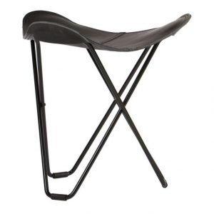 Cuero Tricorona Pampa Black Tuoli