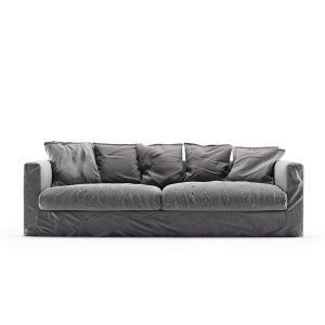 Decotique Le Grand Air 3-Istuttava Sohva Sametti Granite