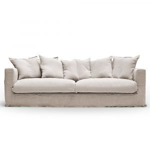Decotique Le Grand Air 3-Istuttava Sohva Savage Linen