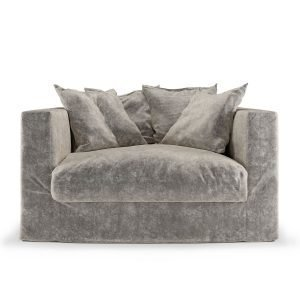 Decotique Le Grand Air Loveseat Nojatuoli Concrete