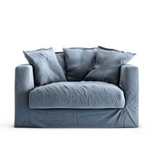 Decotique Le Grand Air Loveseat Nojatuoli Dusky Gloom