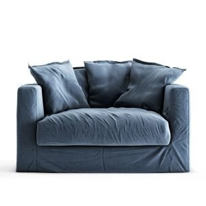 Decotique Le Grand Air Loveseat Nojatuoli Feeling Blue