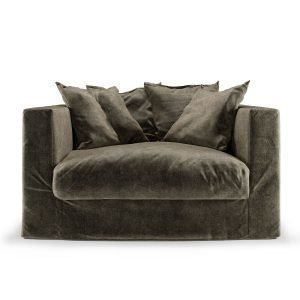 Decotique Le Grand Air Loveseat Nojatuoli Fog