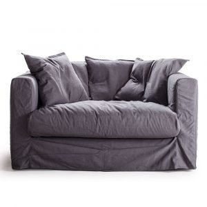 Decotique Le Grand Air Loveseat Nojatuoli Harmaa