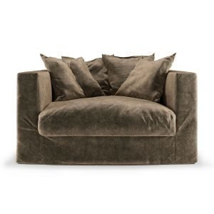 Decotique Le Grand Air Loveseat Nojatuoli Light Brown
