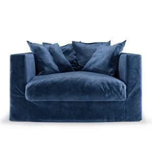 Decotique Le Grand Air Loveseat Nojatuoli Midnight Blue