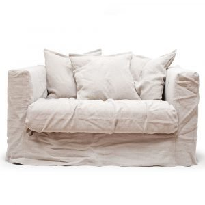Decotique Le Grand Air Loveseat Nojatuoli Natural Blonde
