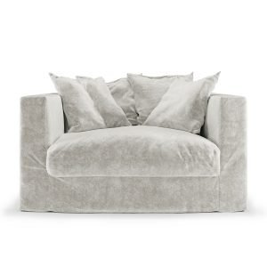 Decotique Le Grand Air Loveseat Nojatuoli Off White