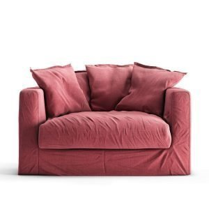 Decotique Le Grand Air Loveseat Nojatuoli Rosewood Linen