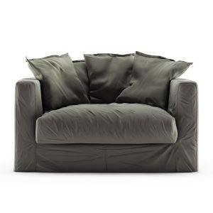 Decotique Le Grand Air Loveseat Nojatuoli Sametti Roebuck