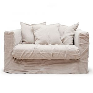 Decotique Le Grand Air Loveseat Nojatuoli Savage Linen