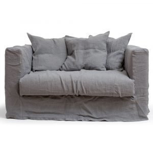 Decotique Le Grand Air Loveseat Nojatuoli Smokey Granite