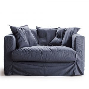 Decotique Le Grand Air Loveseat Nojatuoli Tummansininen