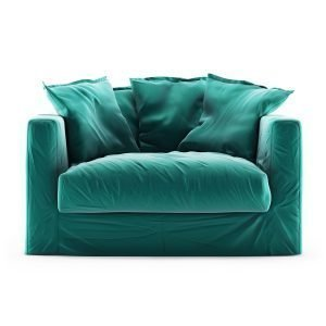 Decotique Le Grand Air Loveseat Sohva Sametti Azure