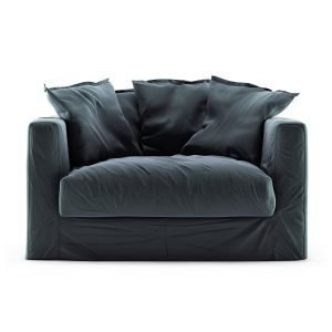 Decotique Le Grand Air Loveseat Sohva Sametti Graphite