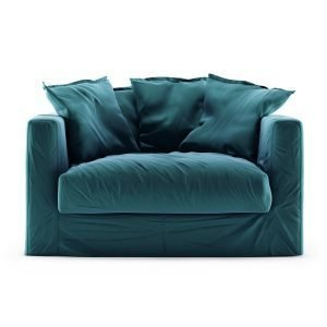 Decotique Le Grand Air Loveseat Sohva Sametti Kingfisher