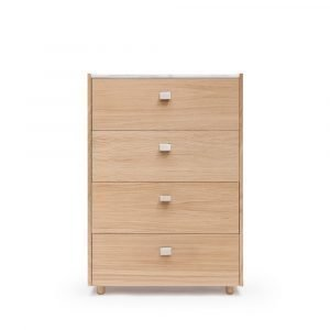 Decotique Loft Lipasto Te4 Tammi / Valkoinen Marmori