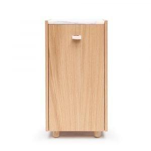 Decotique Loft Yöpöytä / Kaappi Tc1 Tammi / Valkoinen Marmori