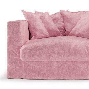 Decotique Loveseat Verhoilu Pastel Pink