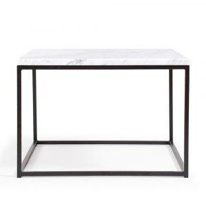 Decotique Marvelous Air Sohvapöytä Carrara / Musta 60x60 Cm