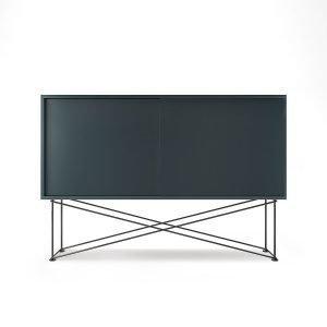 Decotique Vogue Sideboard Senkki 136h Harmaa / 2g / Musta