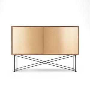 Decotique Vogue Sideboard Senkki 136h Saksanpähkinä / 2b / Musta