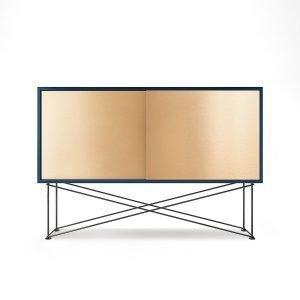 Decotique Vogue Sideboard Senkki 136h Tummansininen / 2b / Musta