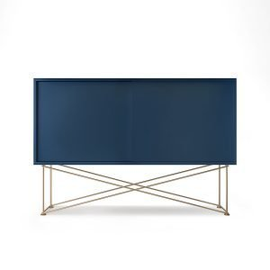 Decotique Vogue Sideboard Senkki 136h Tummansininen / 2db / Messinki