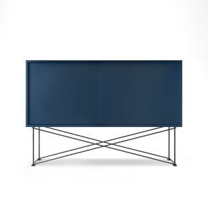 Decotique Vogue Sideboard Senkki 136h Tummansininen / 2db / Musta