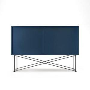 Decotique Vogue Sideboard Senkki 136h Tummansininen / 2db / Musta