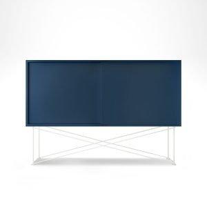Decotique Vogue Sideboard Senkki 136h Tummansininen / 2db / Valkoinen