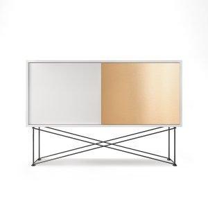 Decotique Vogue Sideboard Senkki 136h Valkoinen / 1w1b / Musta