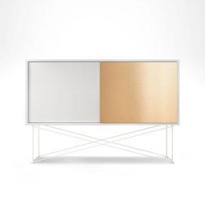 Decotique Vogue Sideboard Senkki 136h Valkoinen / 1w1b / Valkoinen