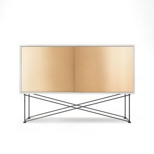 Decotique Vogue Sideboard Senkki 136h Valkoinen / 2b / Musta