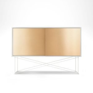Decotique Vogue Sideboard Senkki 136h Valkoinen / 2b / Valkoinen