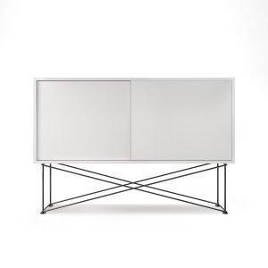 Decotique Vogue Sideboard Senkki 136h Valkoinen / 2w / Musta