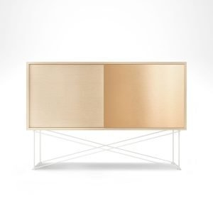 Decotique Vogue Sideboard Senkki 136h Valkoinen Tammi / 1wo1b / Valkoi